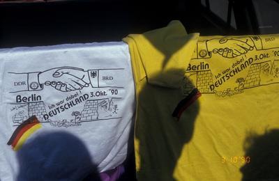 T-Shirts zum 3. Oktober 1990