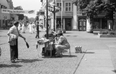 In der Potsdamer Innenstadt