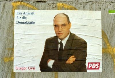 PDS-Plakat Ein Anwalt