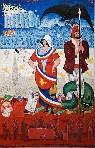 L Anniversaire De Le Revolution Francaise De Verjaardag Van De Frans Revolutie Europeana