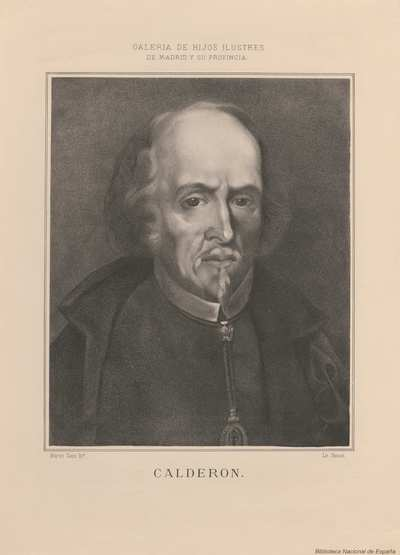Retrato De Pedro Calderon De La Barca Material Gráfico Europeana