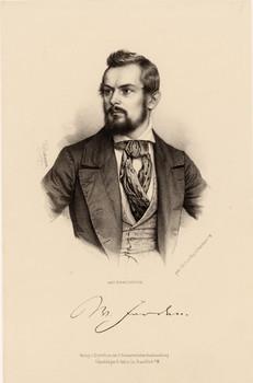 Porträt Wilhelm Jordan (1819 - 1904) | Europeana