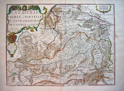 La Castille Vieiele et Nouvelle L´Estramadura de Castille et de Leon