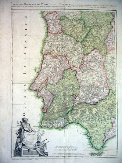 Mapa dos reynos de Portugal e Algarve...