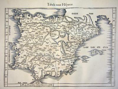 Tabula nova Hispaniae