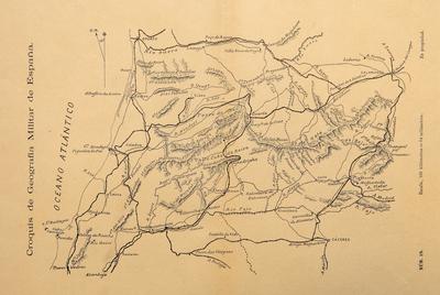 Croquis de geografía militar de España : nº 19