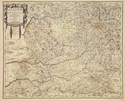 La Castille Propre ou Vieille, et la Nouvelle; avec l`Estremadure Castillane...