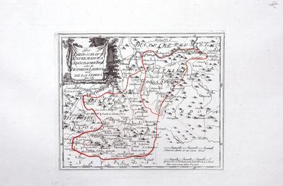 Der Landschaft Estremadura südostlicher Theil oder die Distrikte Lierena und de la Serena