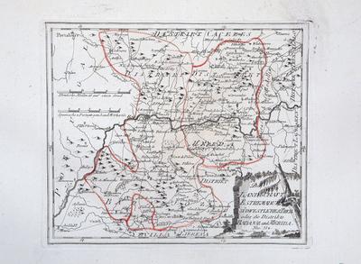 Der Landschaft Estremadura südwestlicher Theil oder die Distrikte Badajoz und Merida