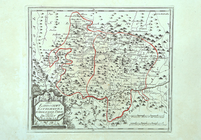 Der Landschaft Estremadura nördlicher Theil oder der Distrikt Plasencia