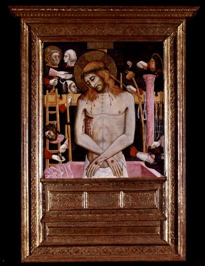 Cristo con strumenti della Passione
