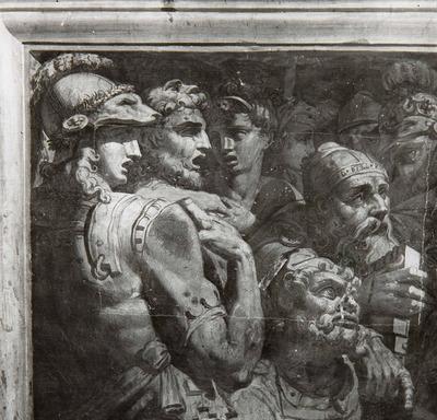 Alessandro Magno pone in salvo gli scritti di Omero