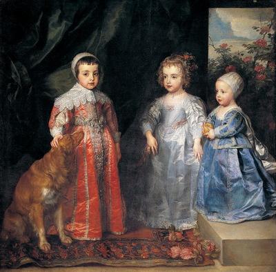 I figli maggiori di Carlo I d'Inghilterra