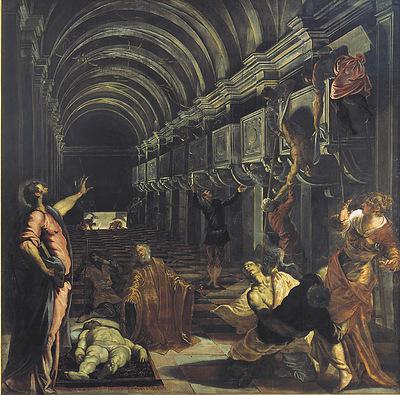 Il Ritrovamento del corpo di San Marco