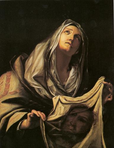 Santa Veronica sostiene il velo