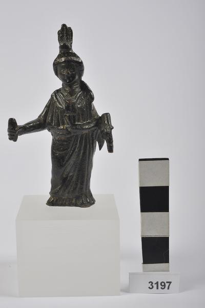 statuetta / Iside Fortuna