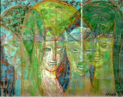 Etruscan heads