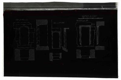 Castello di Verres/ Porte del primo piano/ Salone sud-ovest/ porta nella parete nord; Sala nord-ovest/ porta scaletta interna; Sala centrale nord/ porta nella parete ovest