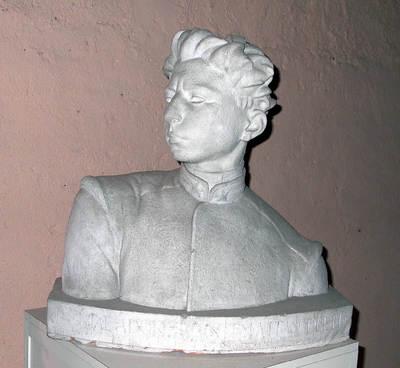 Busto di Roberto Safiati insignito di medaglia d'oro