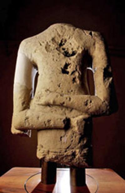 torso di statua