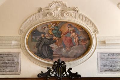 apparizione della Madonna col Bambino a San Nilo e a San Bartolomeo