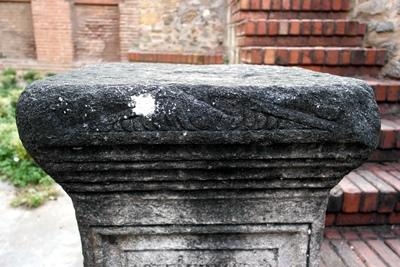 Church of Panagia Acheiropiitos - Tombstone (IMAGE)
