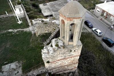 Monastery of Panagia Kosmosotira - Tower Belfry (IMAGE)
