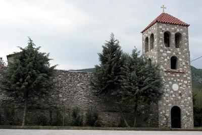 Monastery of Panagia Kalamou - Belltower (IMAGE)