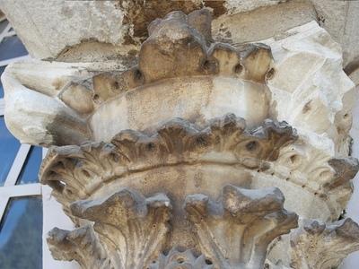 Church of the Holy Apostles - Column Capital #3 (IMAGE)