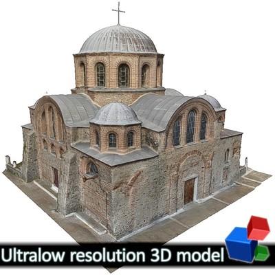 Monastery of Panagia Kosmosotira (3D)