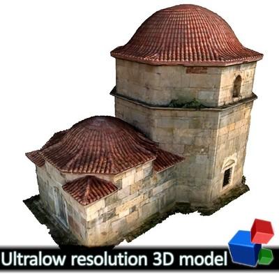 Kioutouklou Baba Bekctashic Tekke (3D)