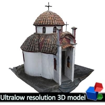 Monastery of Panagia Kalamou - Small chapel (3D)