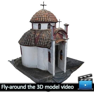 Monastery of Panagia Kalamou - Small chapel (VIDEO)