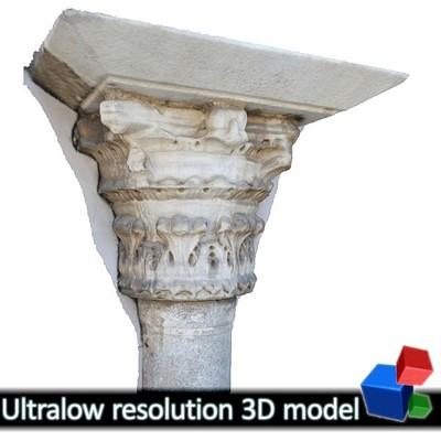 Church of the Holy Apostles - Column Capital #1 (3D)