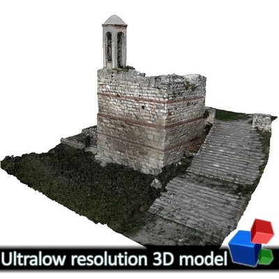 Monastery of Panagia Kosmosotira - Tower Belfry (3D)