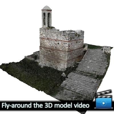 Monastery of Panagia Kosmosotira - Tower Belfry (VIDEO)