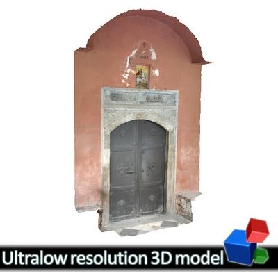 Rotunda - Entrance (3D)