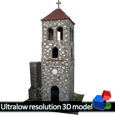 Monastery of Panagia Kalamou - Belltower (3D)