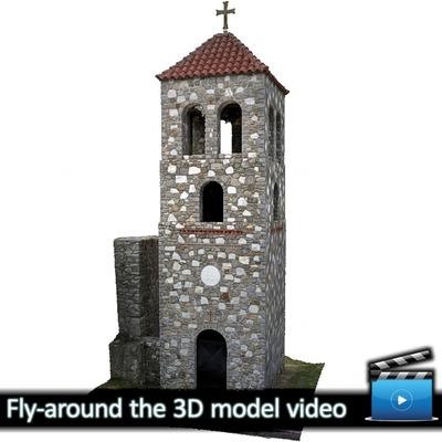 Monastery of Panagia Kalamou - Belltower (VIDEO)