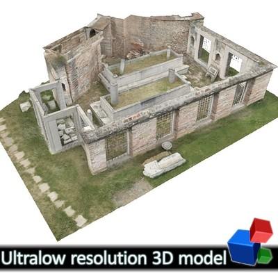 Rotunda - Funeral Enclosure (3D)