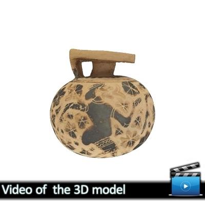 Κορινθιακός σφαιρικός αρύβαλλος - Μουσείο Αβδήρων ΜΑ 63 (VIDEO)