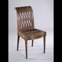 Rendu 3D de Chaise de la Grande Salle à manger (Mobilier étrusque de la laiterie de Rambouillet)