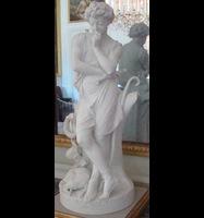 Rendu 3D du 'Jeune pâtre jouant de la flûte': Statuette de la Grande Salle à manger