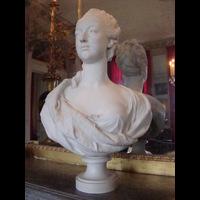 Rendu 3D du buste de Marie-Antoinette