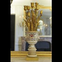 Rendu 3D de Vase candélabre 1 de la Chambre de la Reine