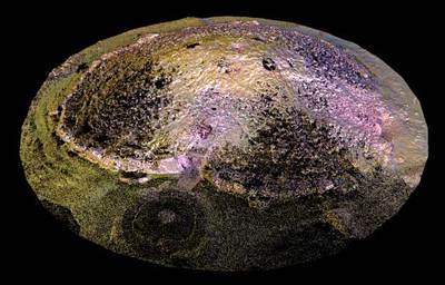Cairn T, Loughcrew (3D decimated point cloud model)