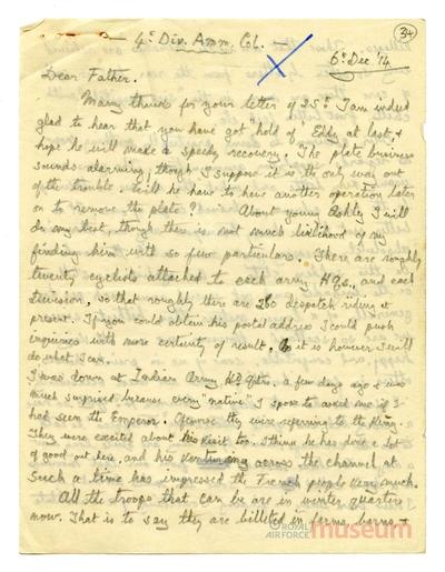 06.12.1914 - Bernard und der König
