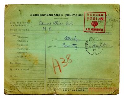 26.12.1914 - Bernard und die Weihnachtsfeier