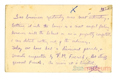 19.07.1915 - Bernard und das Giftgas