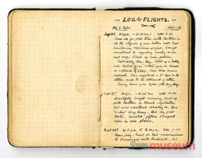 20.09.1915 - Bernards Nahkampf in der Luft